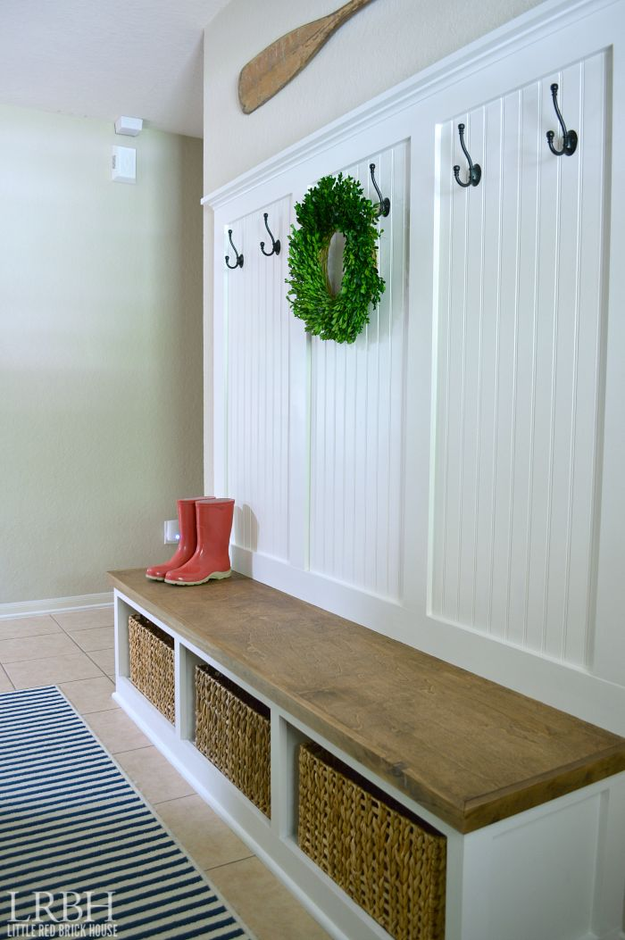 diy entryway bench instructions