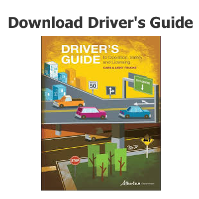 learning to drive in alberta governmant instruction book