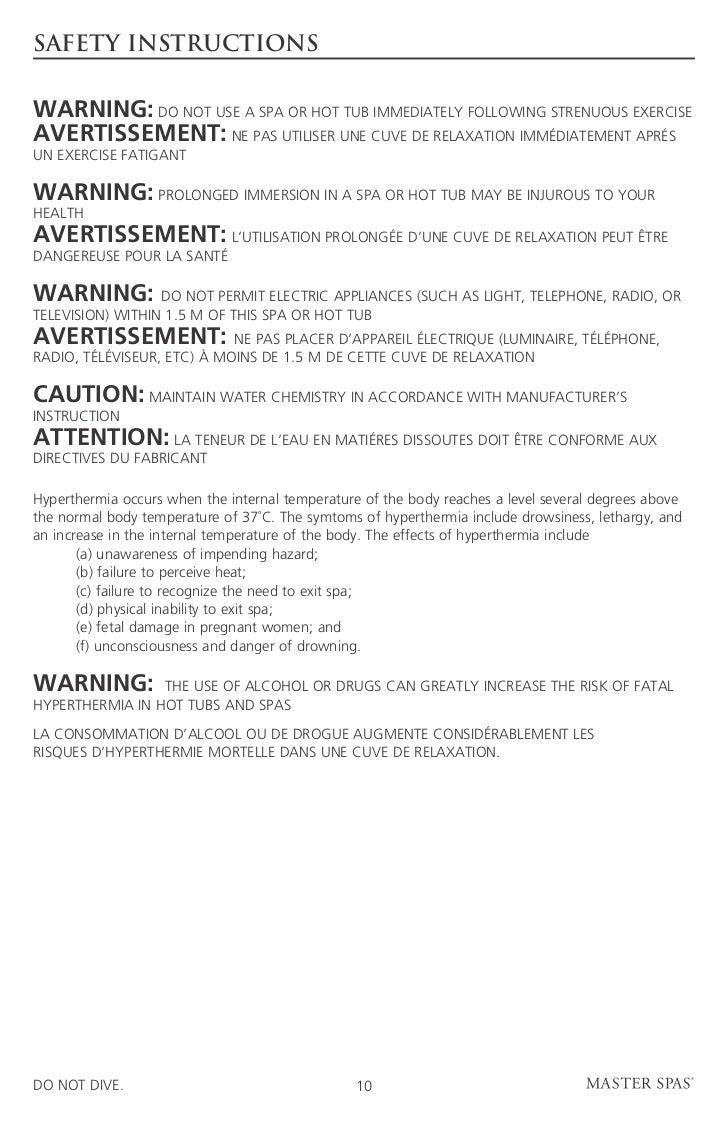 mind spa instruction manual