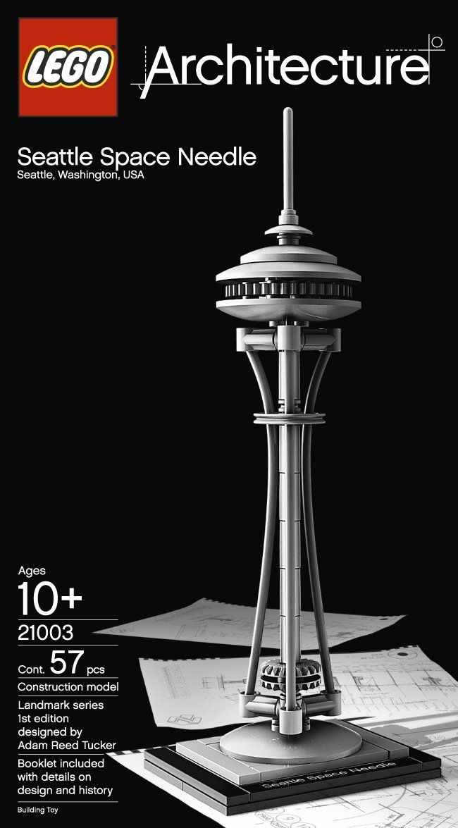 lego architecture space needle instructions