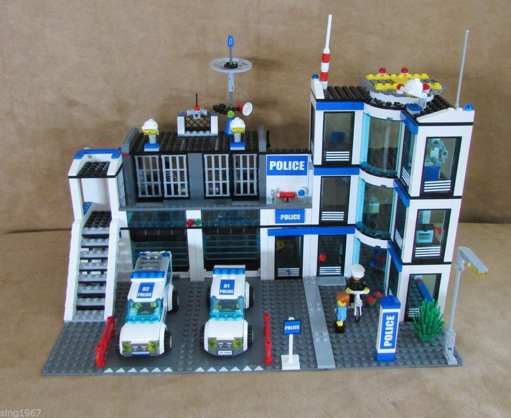 lego police station instructions 2014