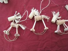 supplies and instructions to make a wine cork wreath