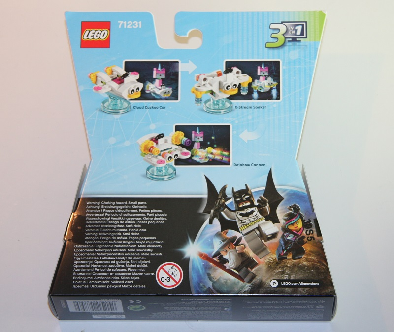 lego dimensions building instructions set 71231