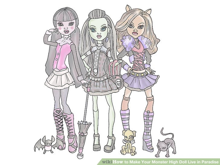 monster high doll maker instructions