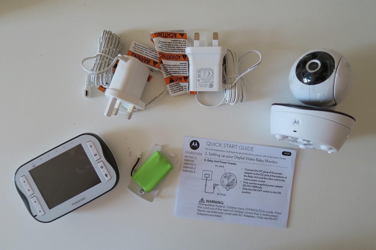 motorola mbp11 baby monitor instructions