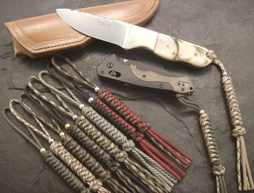 knife lanyard knot instructions
