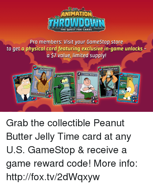 peanut butter and jelly card game instructions