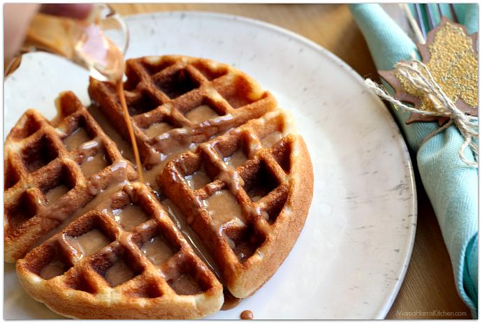 boxed waffle mix instructions