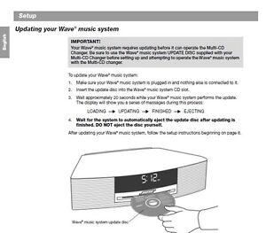 bose wave 2 instructions