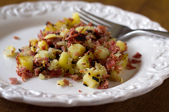 corned beef hash instructions