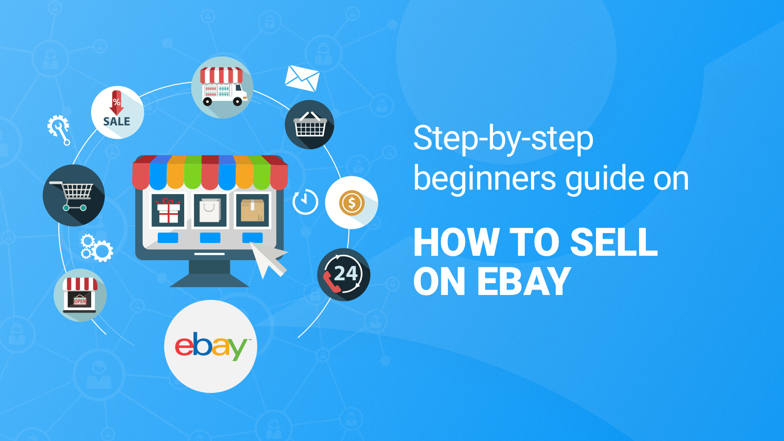 step by step instructions selling on ebay