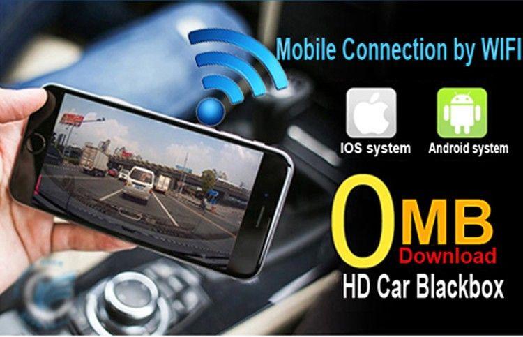 wifi car dvr dashcam 1080p instructions