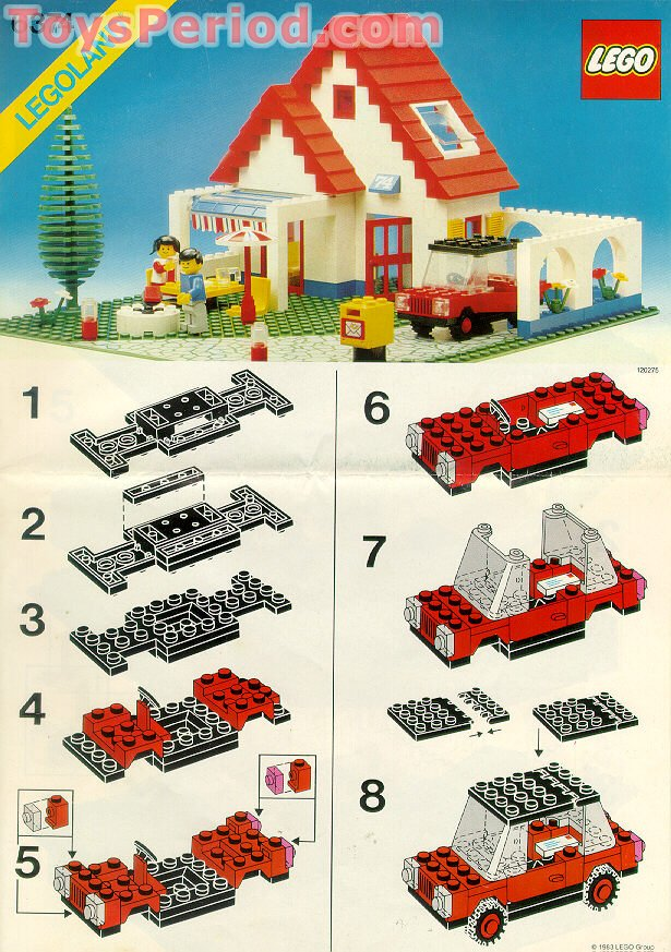 what to build with legos instructions