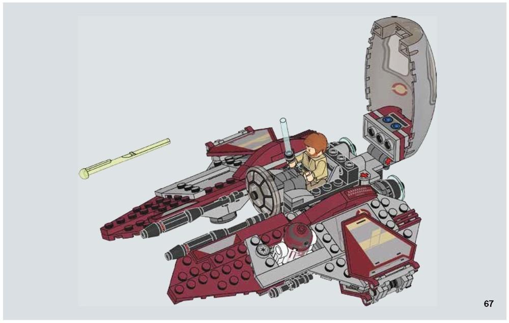 lego jedi interceptor instructions 2005