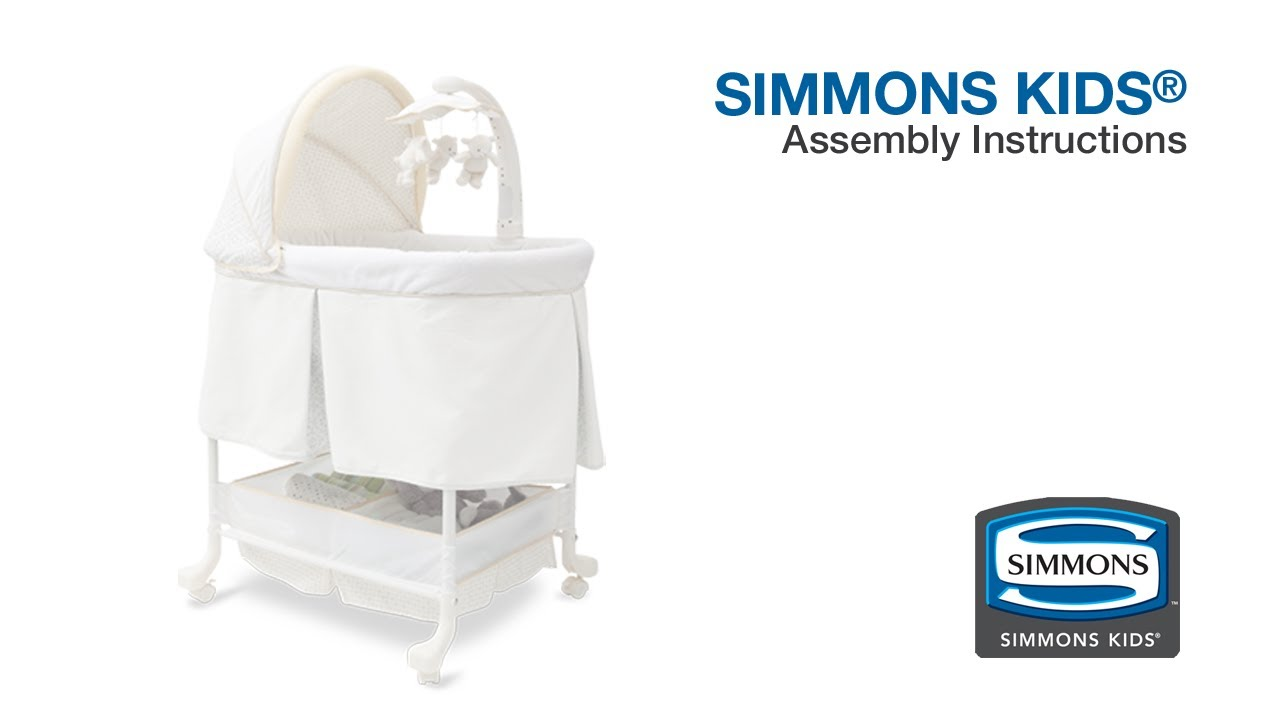 simplicity 4 in 1 bassinet instructions