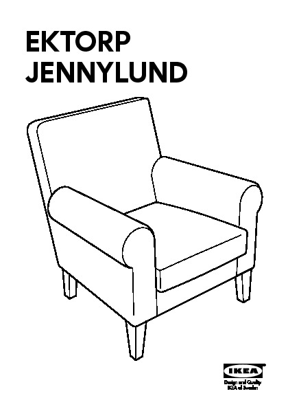 ektorp armchair assembly instructions