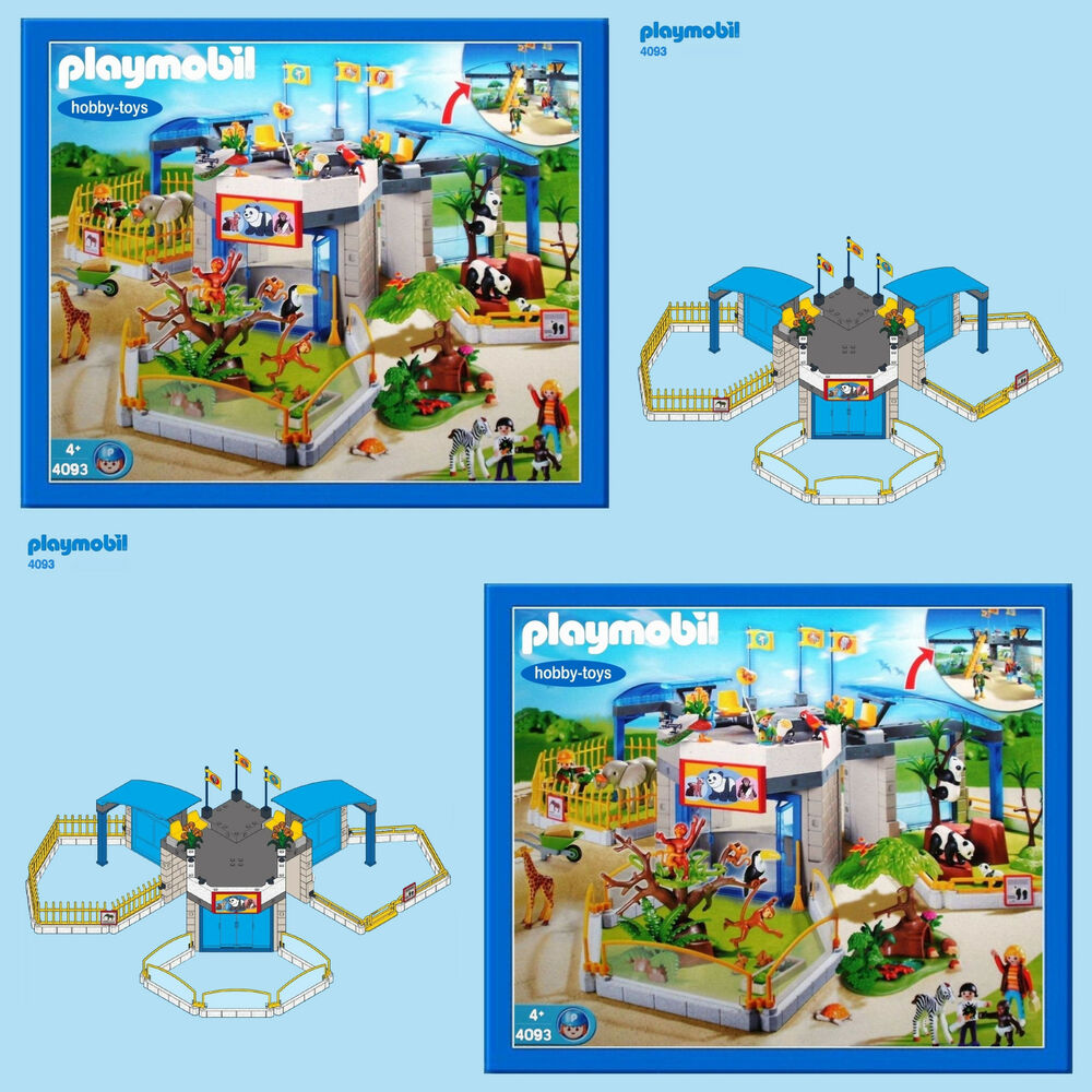 playmobil zoo instructions 5921
