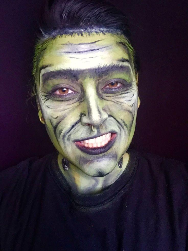 frankenstein face paint instructions