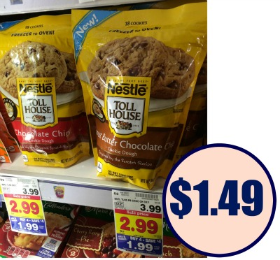 nestle toll house cookie dough baking instructions