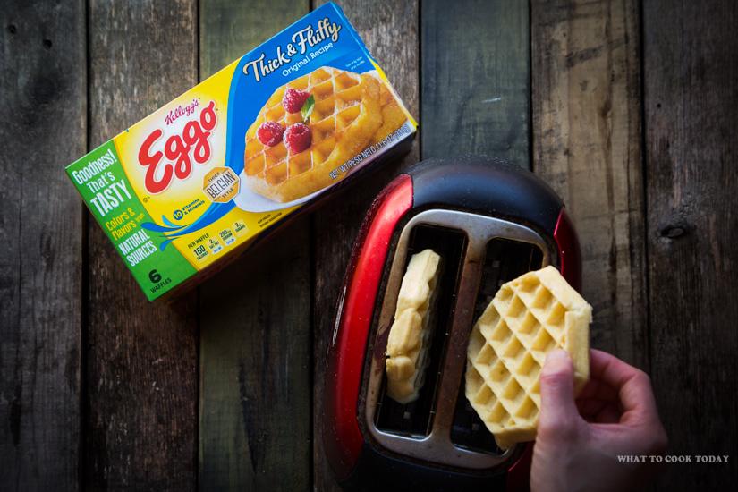 cooking instructions eggo waffles