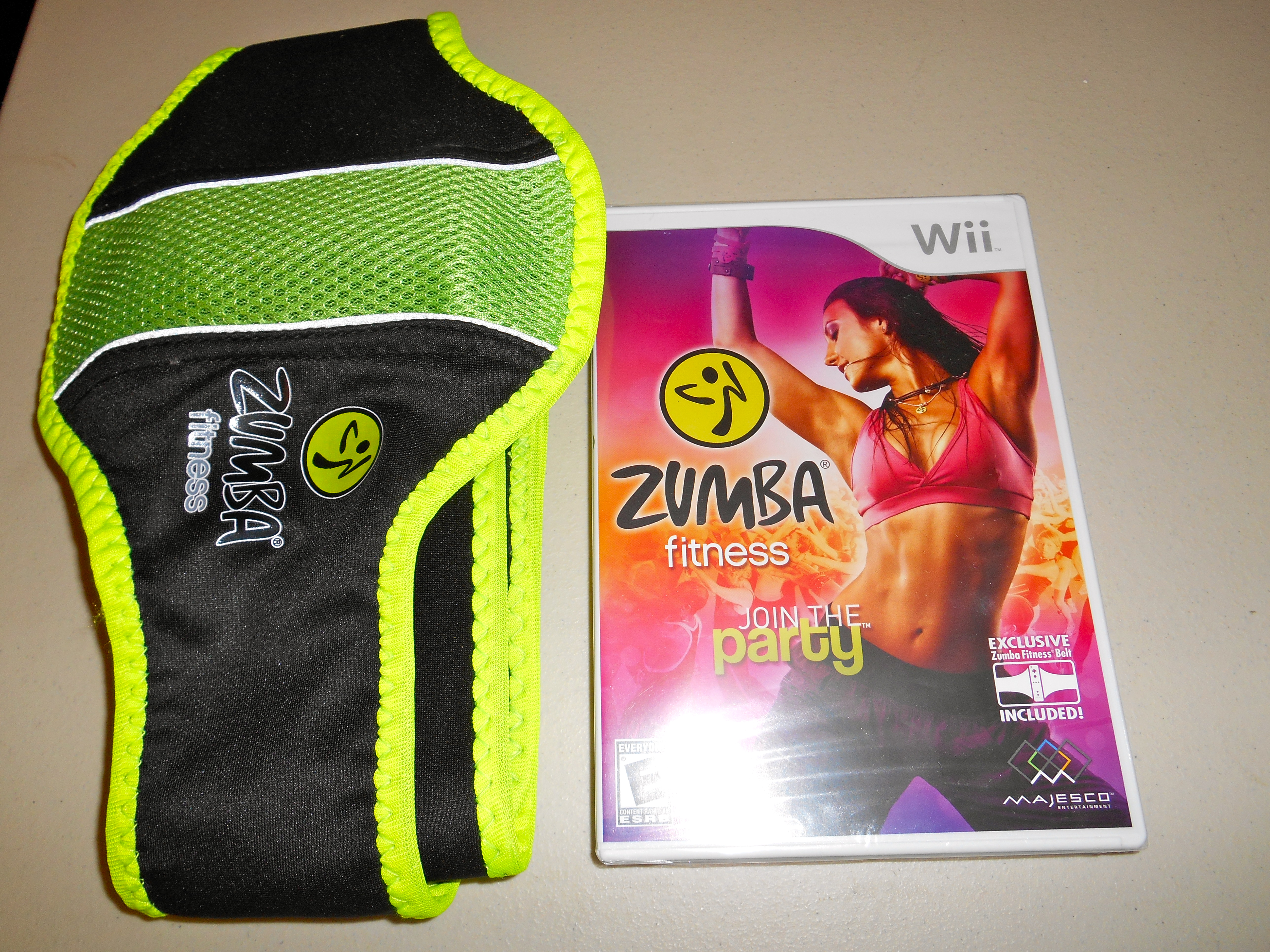 wii zumba belt instructions