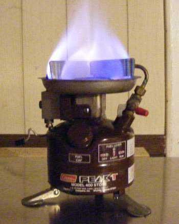 coleman peak 1 stove instructions