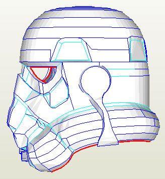 pepakura stormtrooper helmet instructions