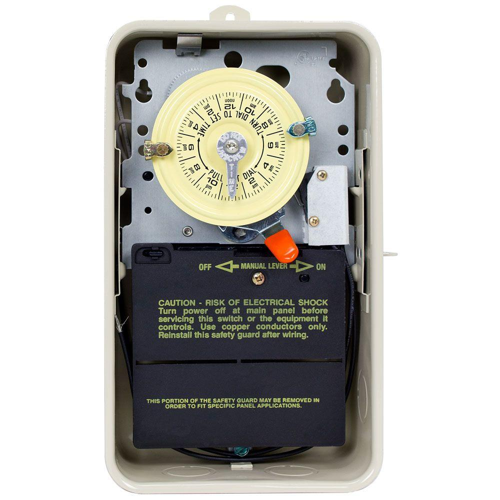 intermatic t101 24 hour dial timer instructions