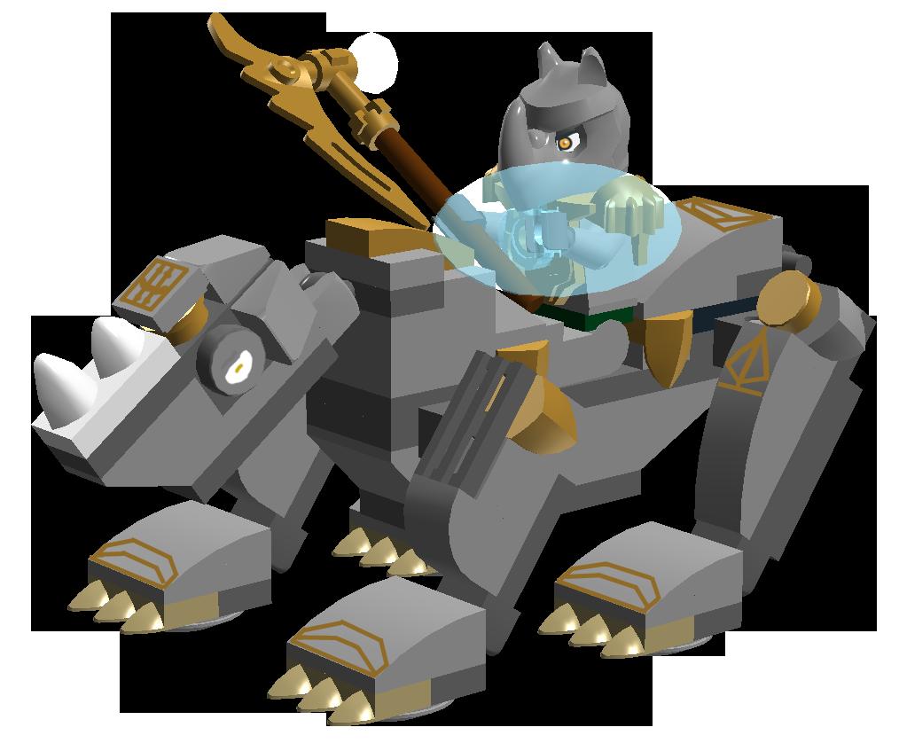 lego chima rhino instructions