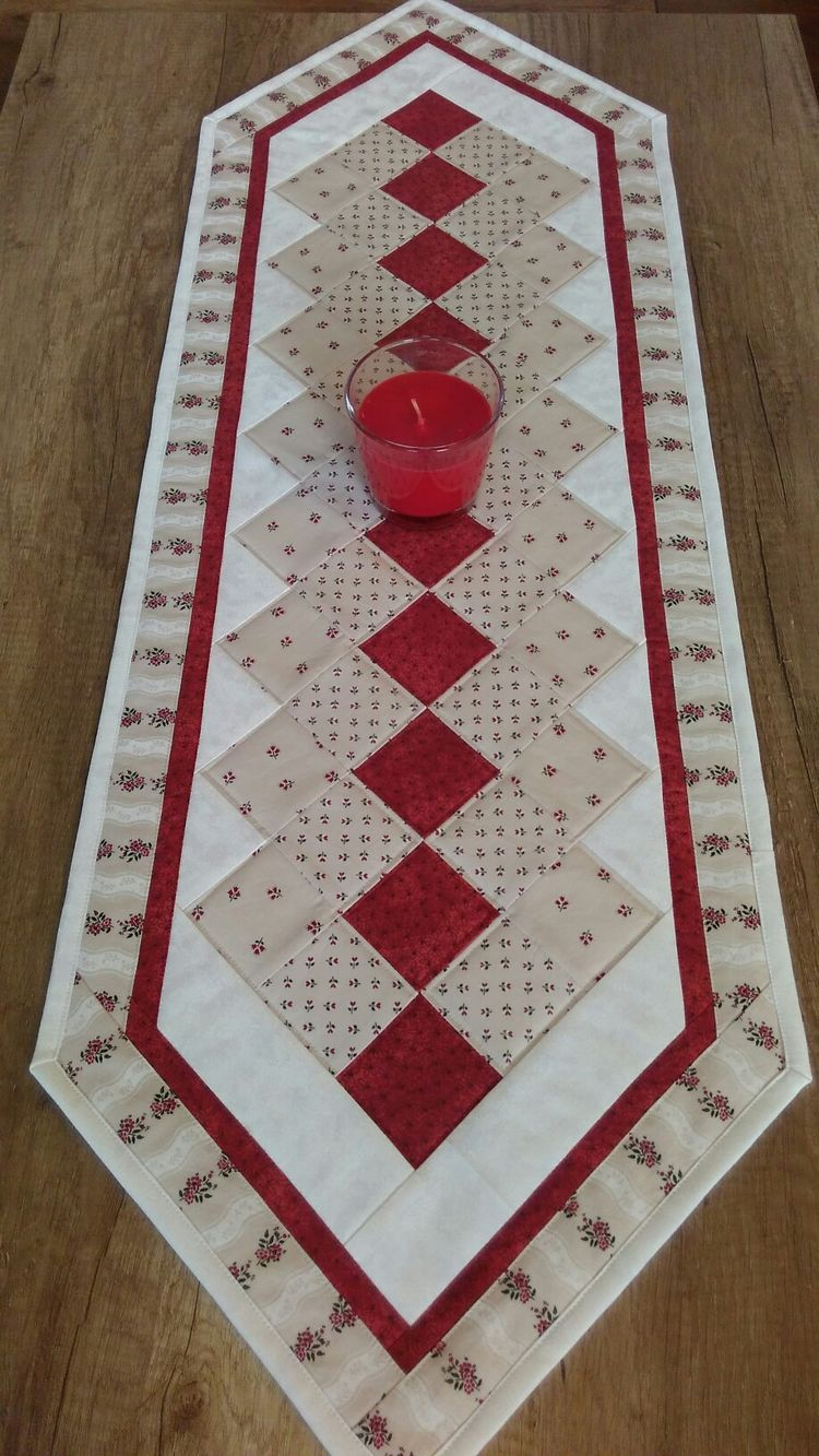 instructions for twisted table runner