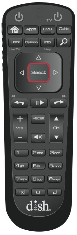 dish remote control instructions
