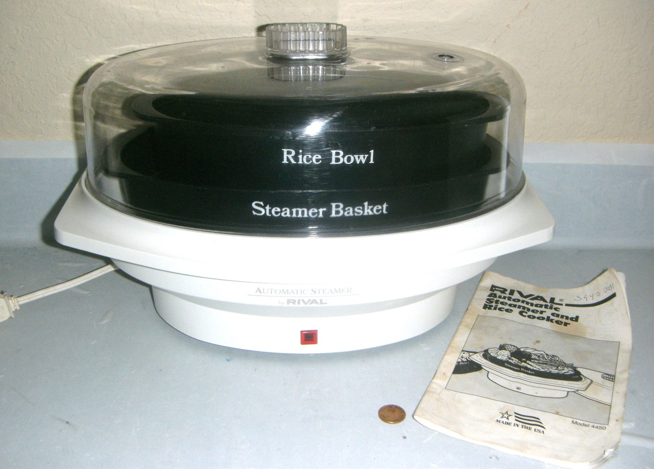 rice cooker and steamer instructions