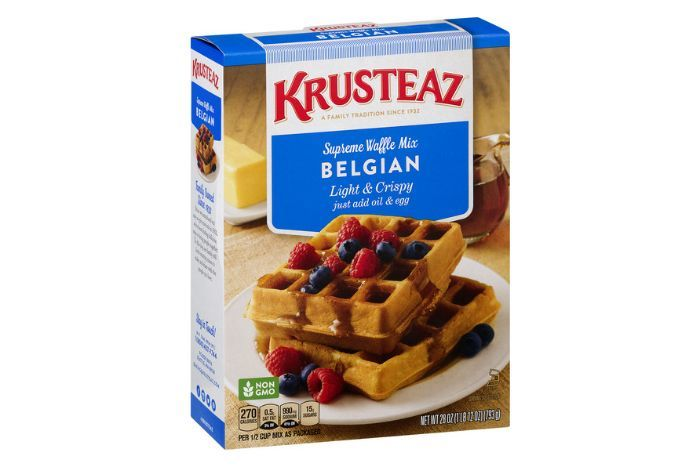 krusteaz belgian waffle mix instructions