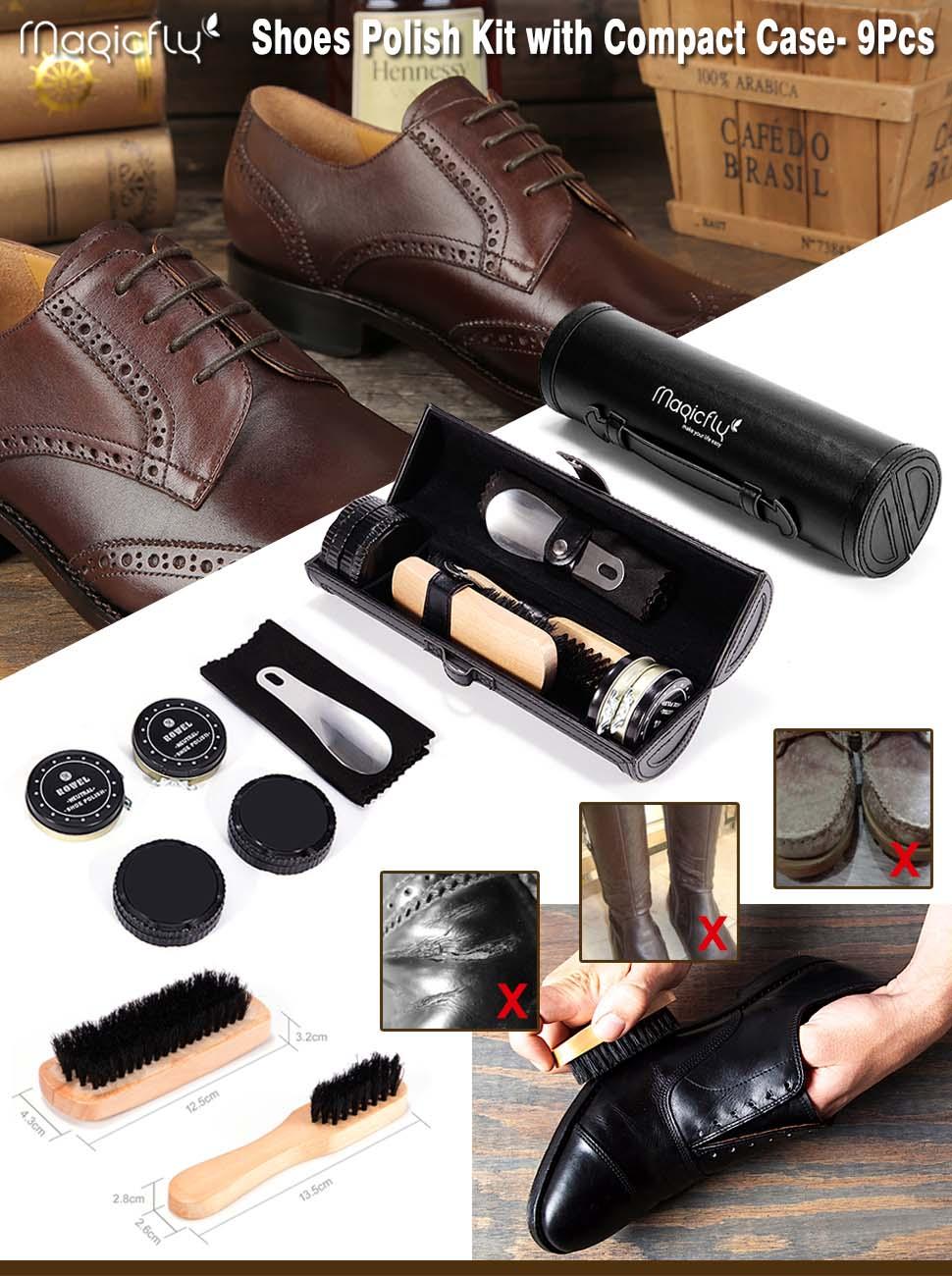 shoe shine kit instructions