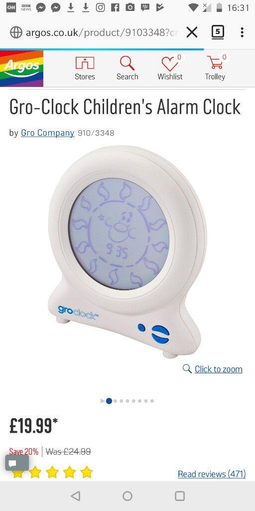 gro alarm clock instructions