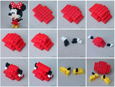 crawling minnie mouse instructions
