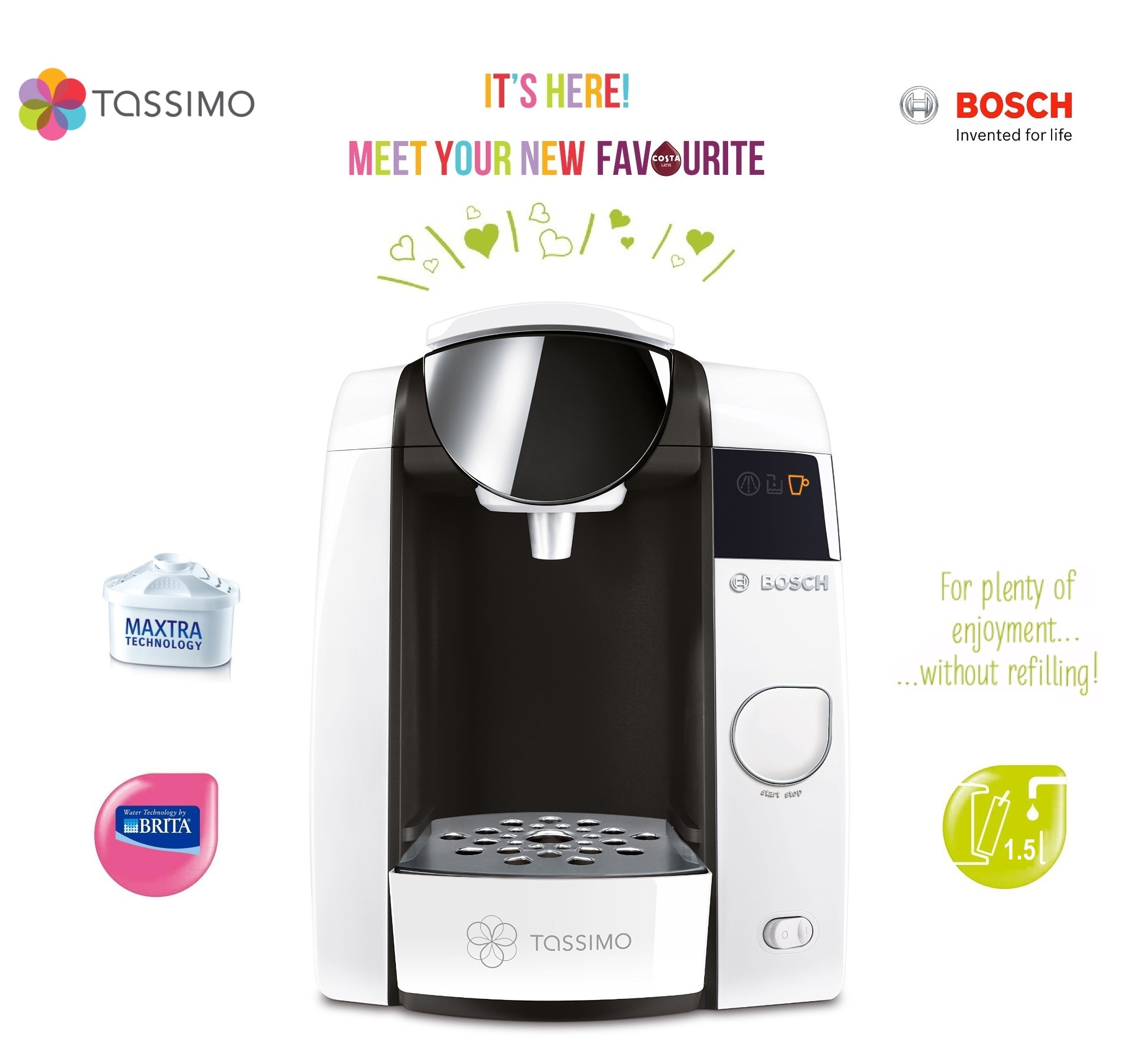 bosch tassimo t45 instructions