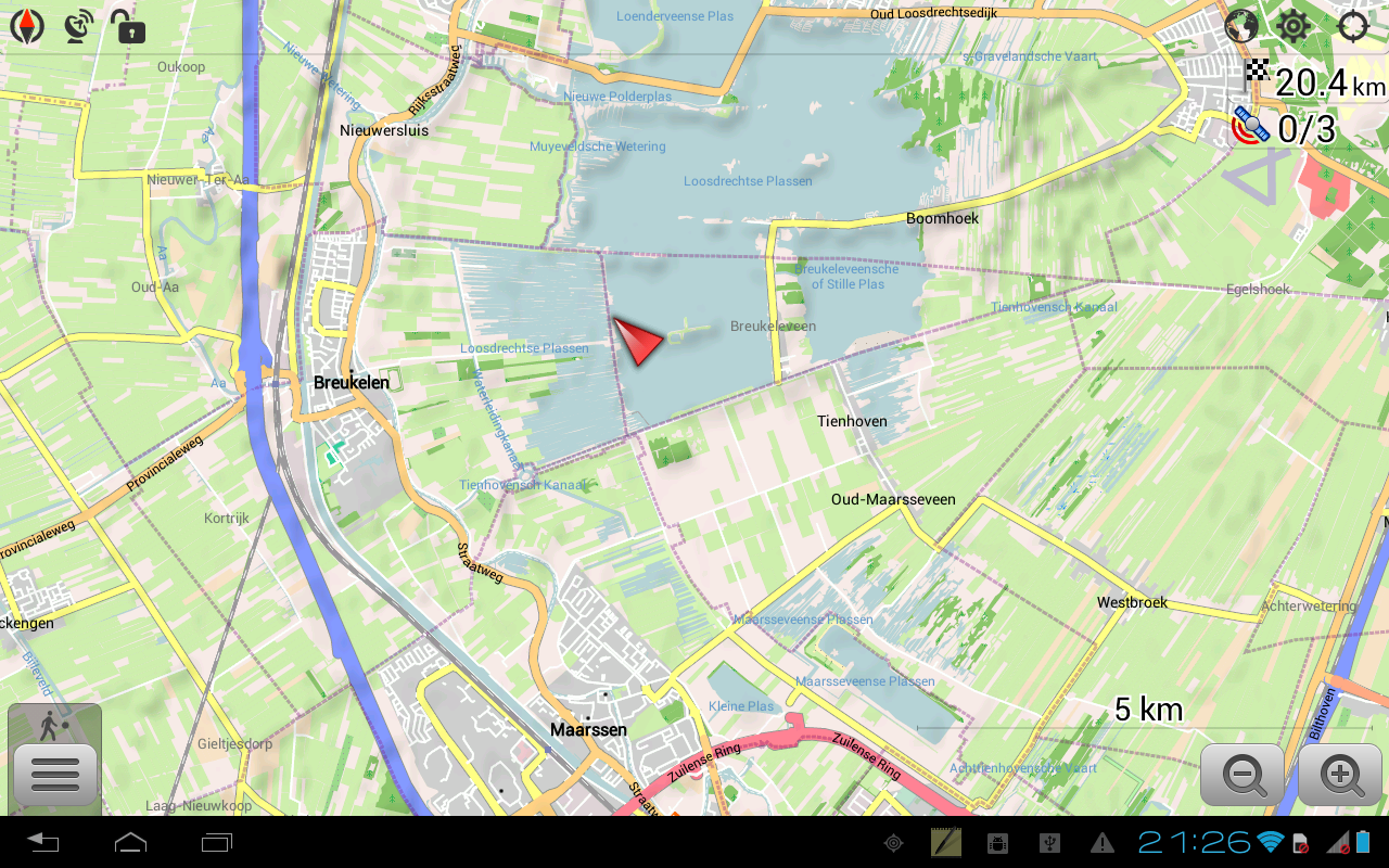 google maps app for android instructions
