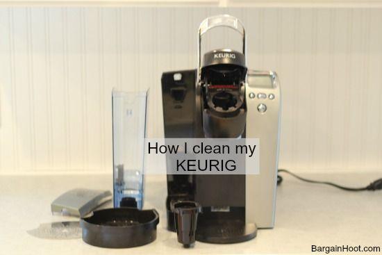 descaling keurig coffee machine instructions with vinegar