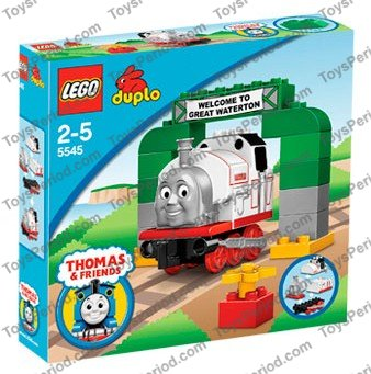 duplo thomas train set instructions