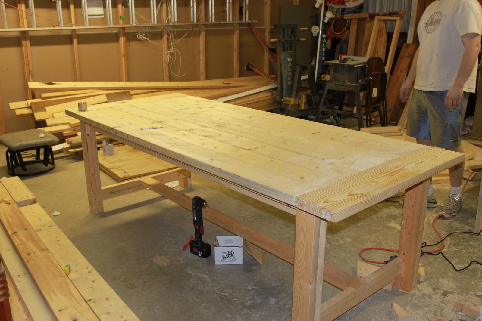 farm table building instructions