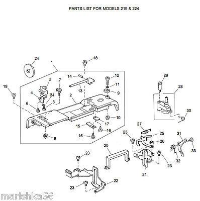huskystar 224 instruction manual