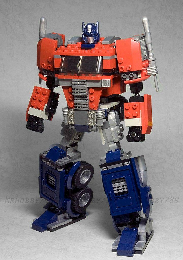 instructions for lego optimus prime