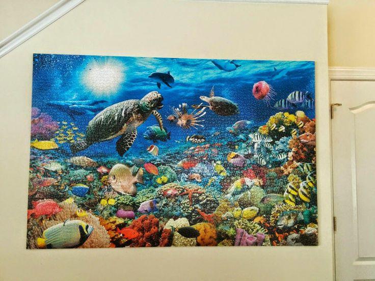 jigsaw puzzle glue instructions