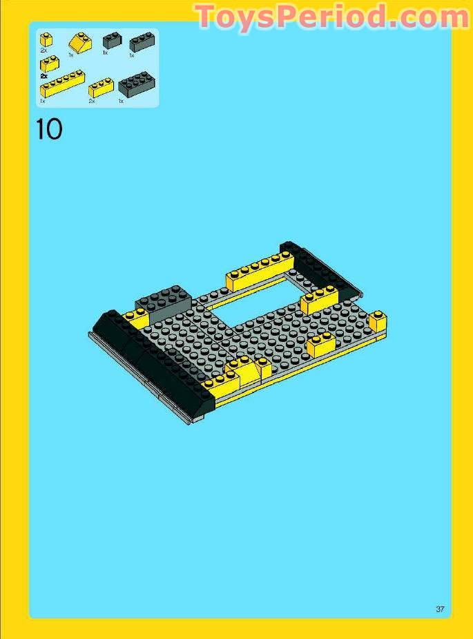 lego 4996-1 instructions