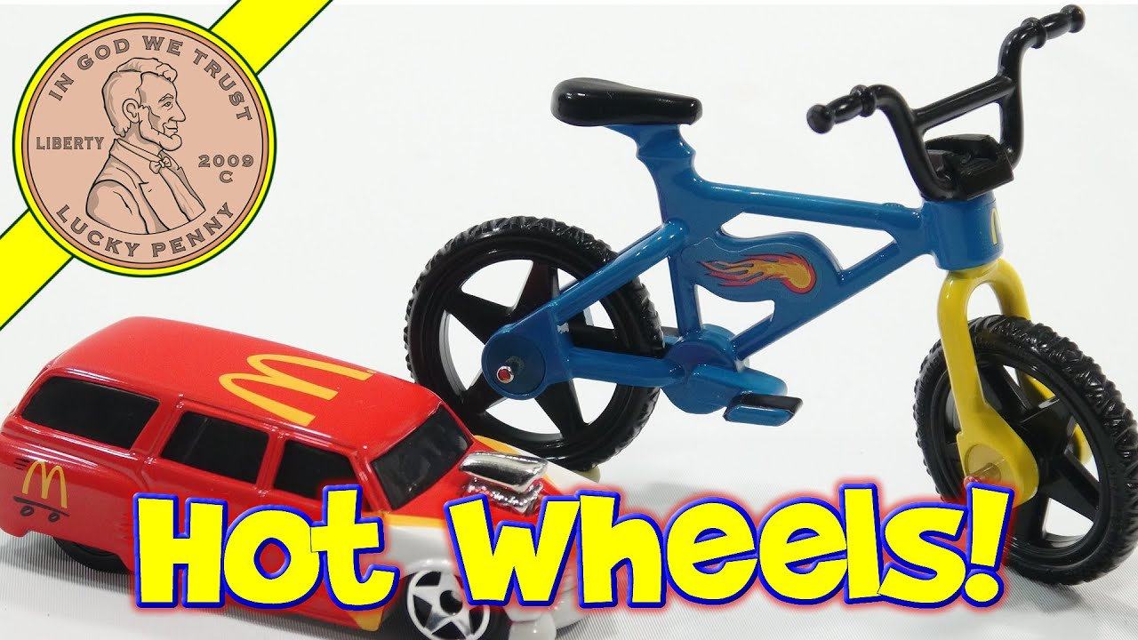mcdonalds hot wheels 2017 instructions