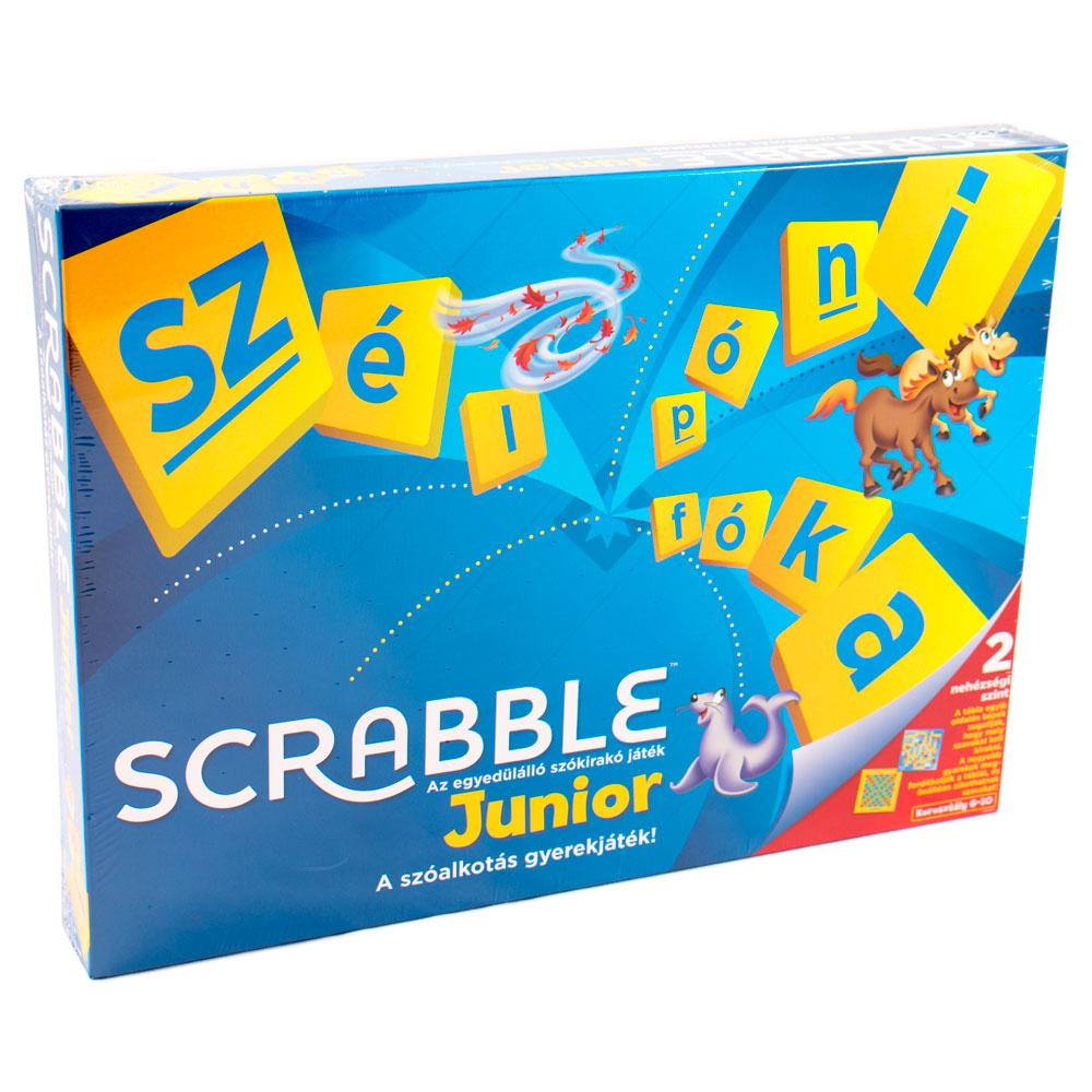 scrabble junior instructions mattel