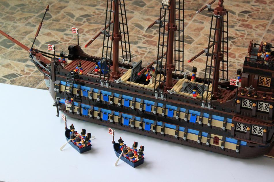 spongebob small pirate ship lego instructions