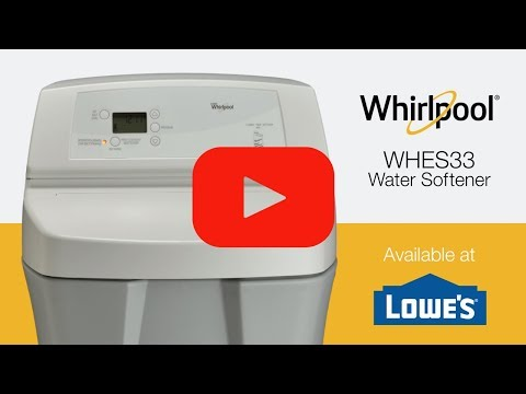 whirlpool 40000 grain water softener installation instructions